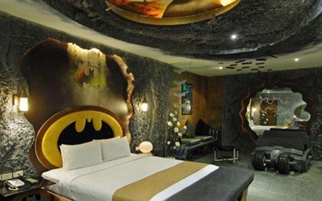 22.) Sleep like an eccentric comic book billionaire.
