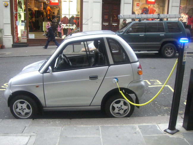 6.) Scientists are currently working on technology that will allow a road to charge electric cars as they drive on it.