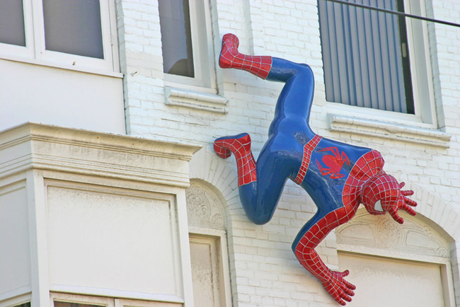20.) Scientists are working on a substance that would give anyone the ability to walk up walls and ceilings à la Spider-Man.