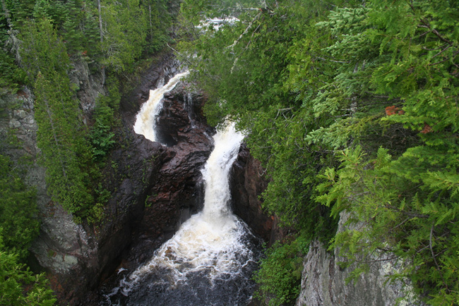 18.) There is a waterfall in Minnesota called Devil's Kettle where the water flows into a large hole made of rock. Several studies have been done and scientists still don't know where the water ends up.