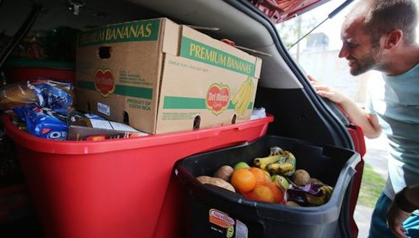 Let's get this food to people who need it more than a dumpster does.