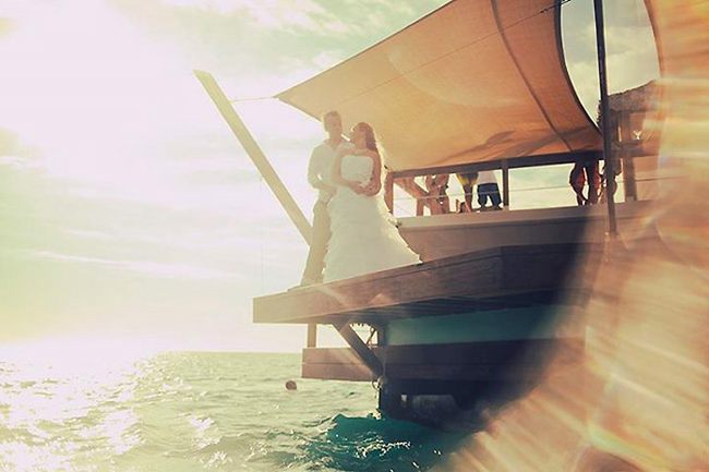 如果你夠有錢的話,那這也會是個很浪漫的婚禮場合。