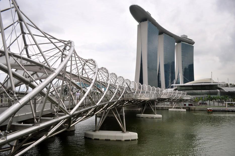 新加坡螺旋橋(Helix Bridge)