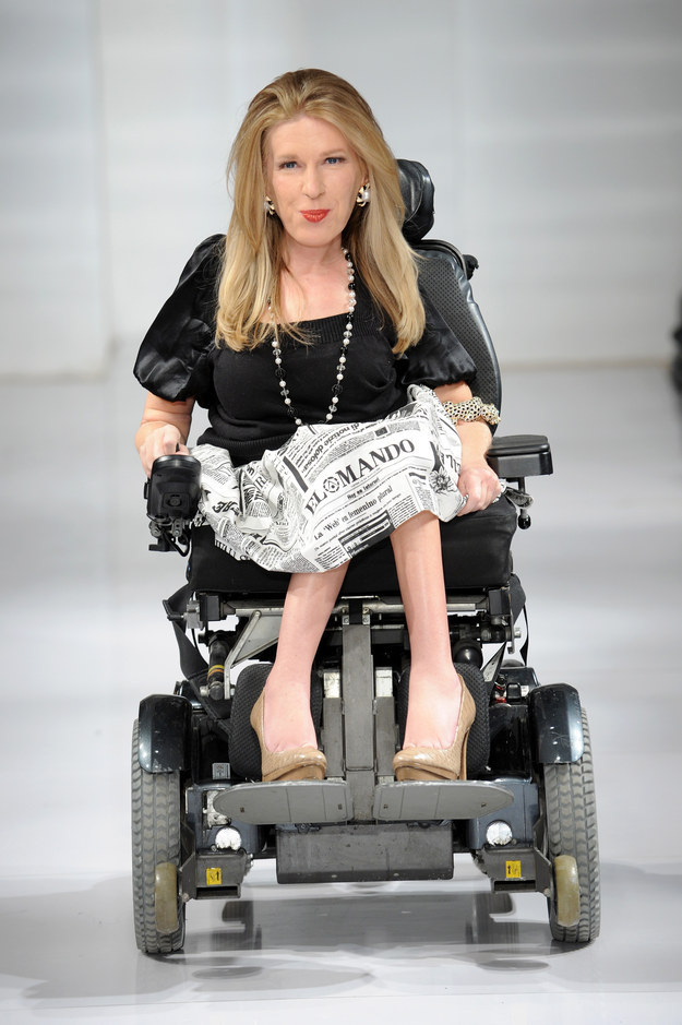 In February, Karen Crespo, a 30-year-old from Los Angeles, contacted Hammer to tell her how inspired she was to see a woman in a wheelchair at the designer's spring 2014 show.