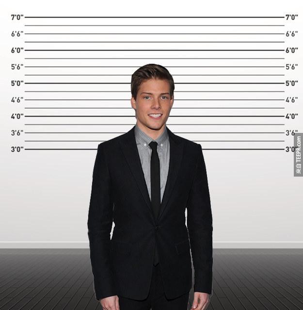21. 亨特·帕瑞施(Hunter Parrish):身高170cm