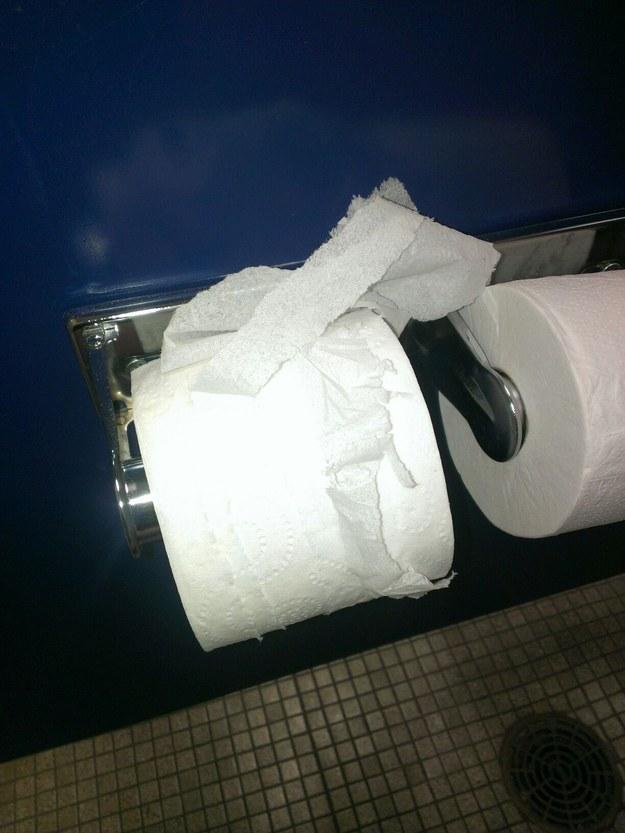 30. 是誰這樣用衛生紙的啦!