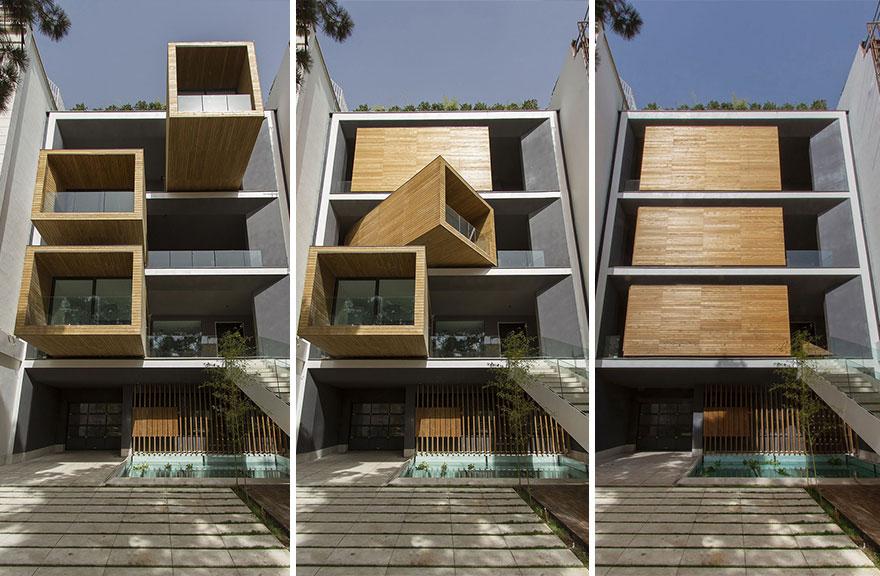 這棟房子可以依照天氣變化而變形形狀。太酷了!