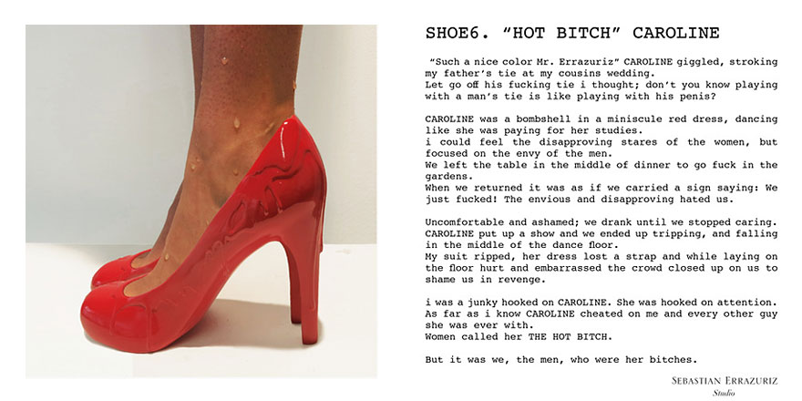 超狂藝術家創造12雙高跟鞋 獻給過去12個舊情人:每一雙都有故事!