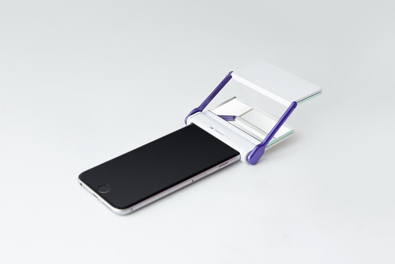 8. 「Yahoo 一路好走導航」:因為低頭滑手機,每天都有很多仆街的事件發生。使用「一路好走導航」,它特殊雙面反射鏡,就能夠忠實呈現路況了!