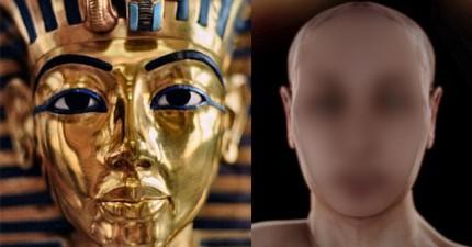 科學家揭開了埃及法老王圖坦卡門的真實樣貌,原來他有這樣詭異的神祕基因病史。