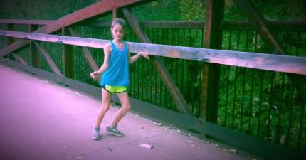 這個小女生的舞步一開始只會讓你覺得很驚訝,但看到最後會讓你說不出話。