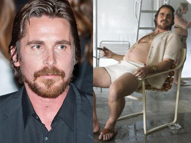 1. 克里斯汀·貝爾 (Christian Bale):《瞞天大佈局》(American Hustle)