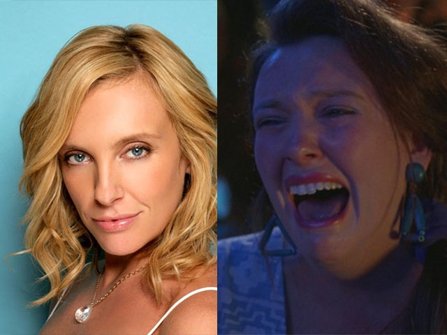 10個好萊塢影星為戲暴肥的驚人對比圖。