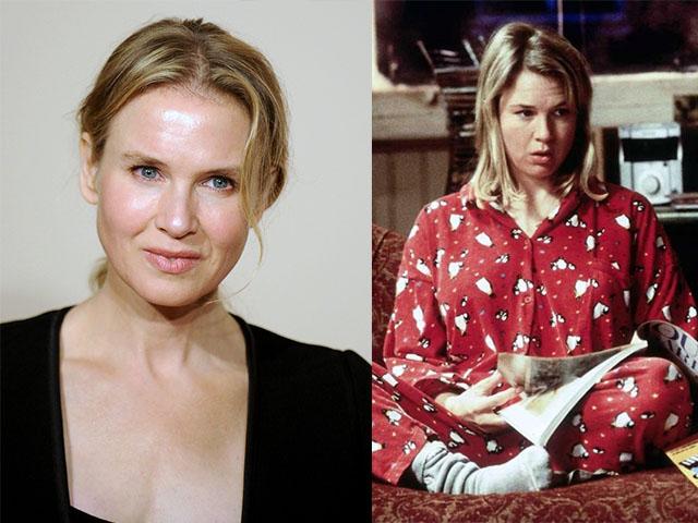 4. 芮妮·齊薇格 (Renee Zellweger):《BJ單身日記》(Bridget Jones's Diary) 和續集
