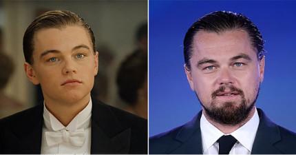 這就是17年前拍電影《鐵達尼號》的演員現在的模樣。