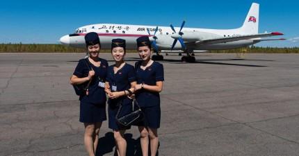 北韓的國營航空被酸「世界上最差」 攝影師挑戰搭乘超古董飛機