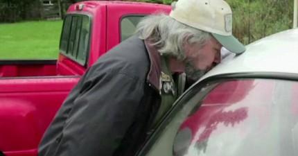 這個男人曾跟700台車發生性行為,現在終於跟一台小車情定終身。等等...這什麼跟什麼啦!