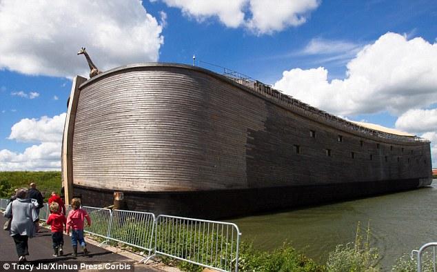 他打造了160萬美金的真實尺寸諾亞方舟,原因就只是因為他夢裡看到的情景。