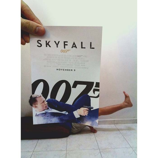 5. 《007:空降危機》007: Skyfall.