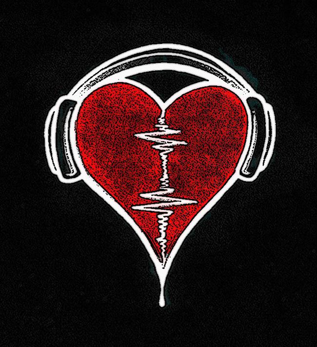 2. 你的心跳頻率會改變,來模仿你所聽的音樂。