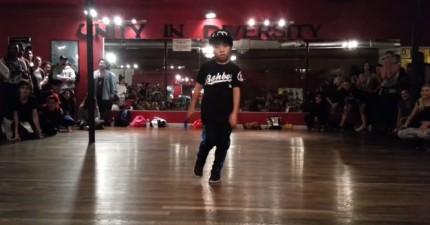我沒有看過這麼動感的舞蹈!最酷的是...他才8歲!
