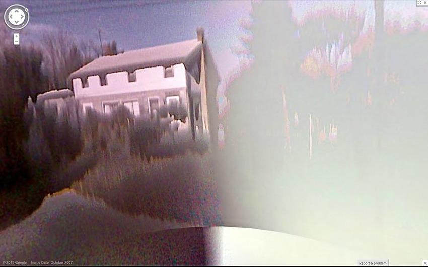 21個在Google街景地圖上最不可思議的景象。#3 捕捉到孫悟空駕筋斗雲?!