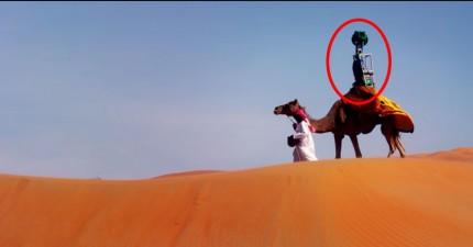 雖然我不知道為什麼會需要這個,但Google沙漠街景真的很酷!