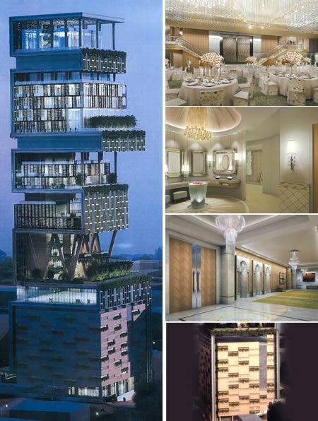 10個全球最極度瘋狂的「無敵豪宅」。裡面的設施和裝潢真的都太超乎想像了!