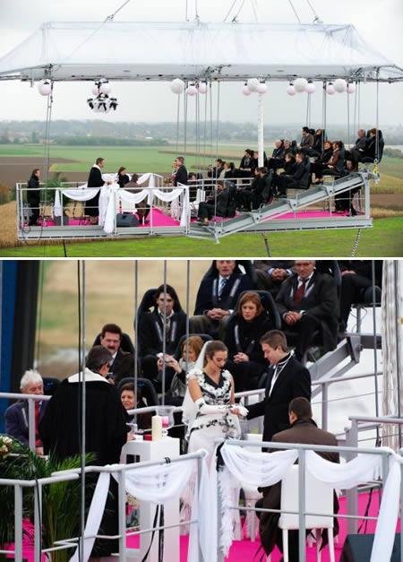 9個全世界最驚奇的婚禮,有一些超棒,但其它的會讓你超傻眼。