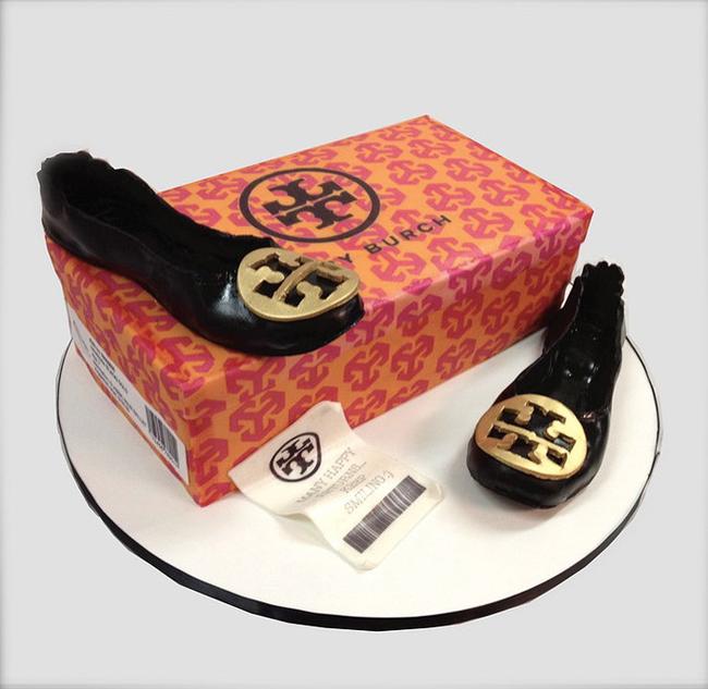 Tory Burch鞋子蛋糕
