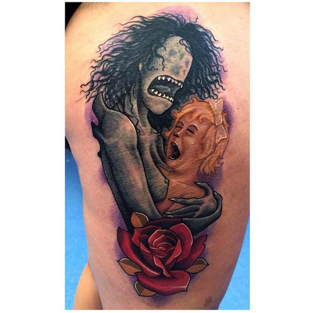 27個會讓人每晚做惡夢的刺青!這樣的刺青真的讓人不敢直視。