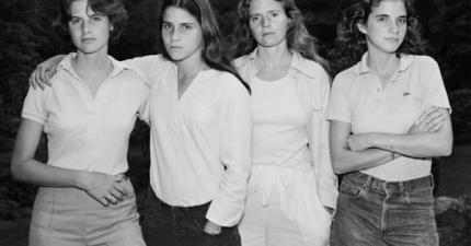 這四姊妹每5年拍一張照片紀念,一共拍了30年。最近她們才把這些感人的照片公布出來。
