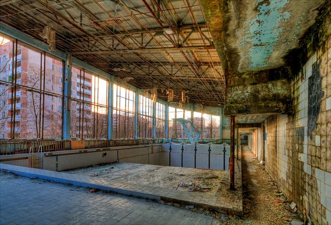 21. 烏克蘭 普里皮亞季 (Pripyat, Ukraine.)