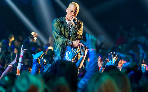 8.) Eminem