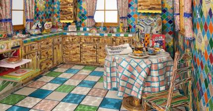 這個剔透閃亮的廚房跟後院花了整整5年才完工。再近一點,你會看得目瞪口呆!