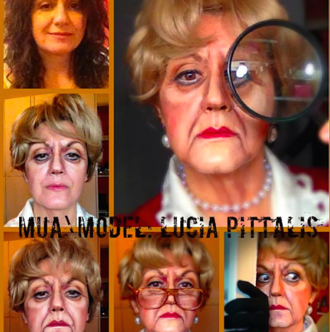 這個女人可以把自己化妝成任何人。她應該還可以變成你!