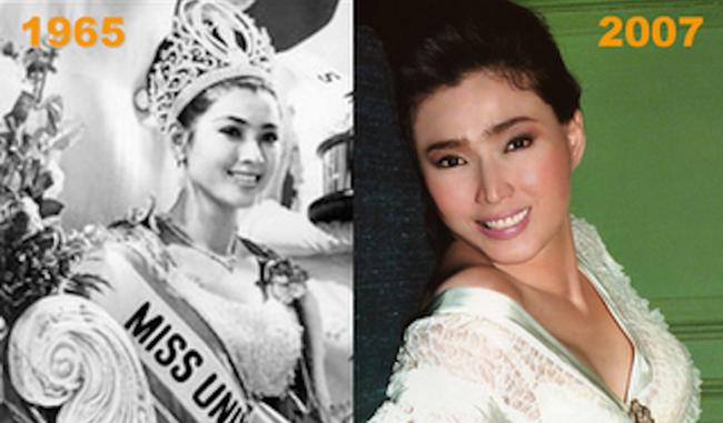 她是亞洲第2個環球小姐。