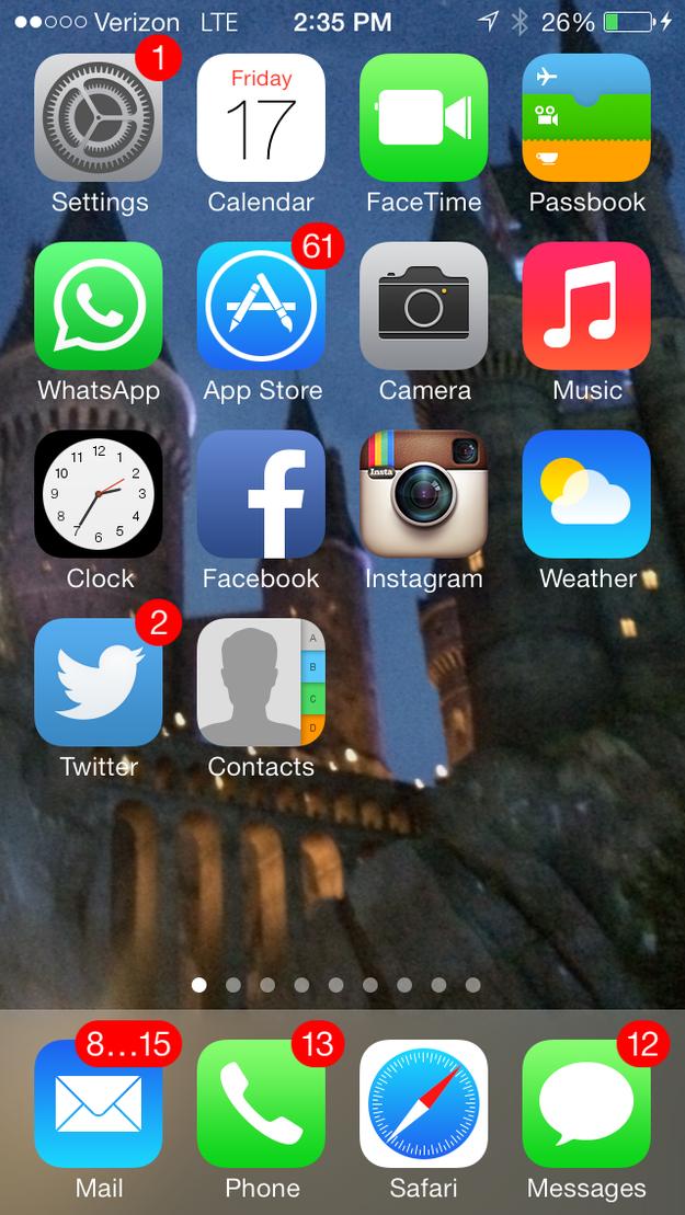 9. 或是你的信箱有多混乱... (连App也一堆没更新的啊!)