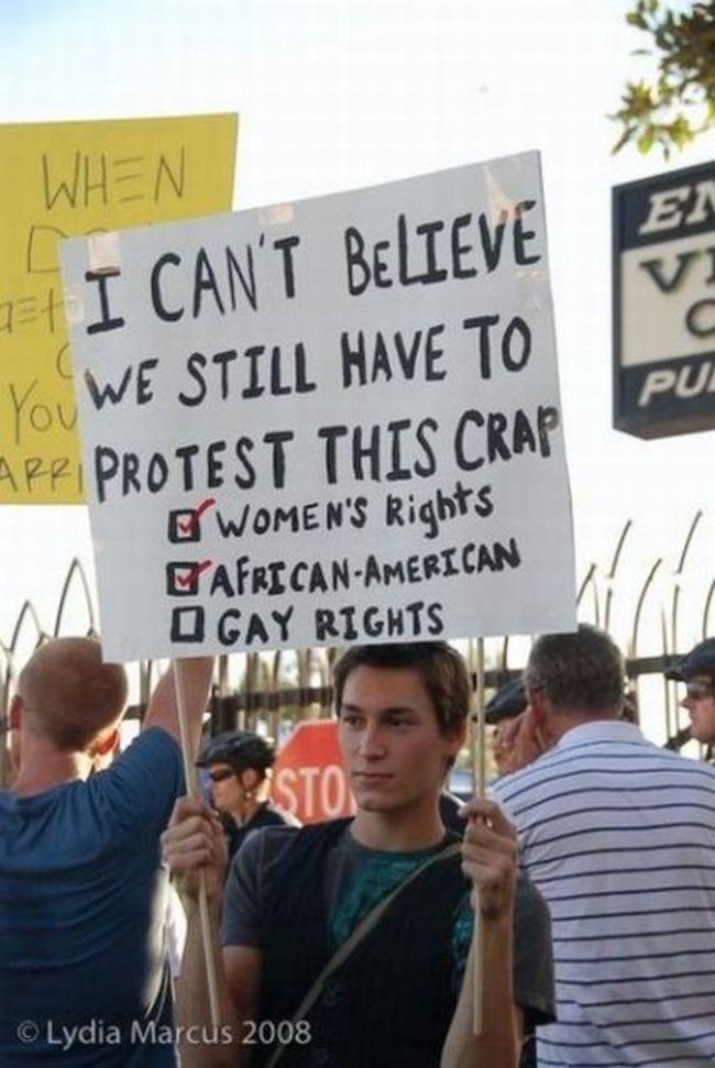 22個最有創意的抗議方式,證明時代已經完全改變!