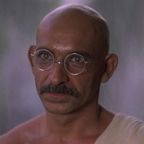 13. 本·金斯利飾演《甘地》的甘地 (Ben Kingsley as Mohandas Karamchand Gandhi in Gandhi)