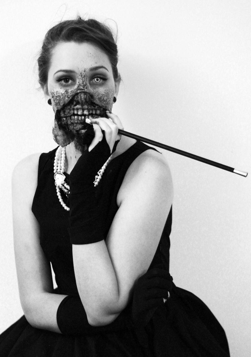 8. 喪屍版奧黛麗·赫本 (Audrey Hepburn)