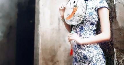如果《冰雪奇緣》的艾沙穿的是中國風旗袍的話,那就會更完美!