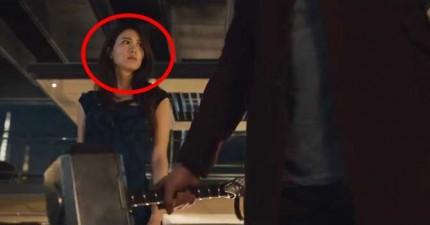 《復仇者聯盟2:奧創紀元》最新加長預告片#2。裡面首次曝光的神祕亞洲女星是誰?!