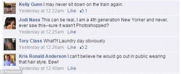 我以為我已經看過一切了,直到我看到這名紐約地鐵車廂裡的裸男。