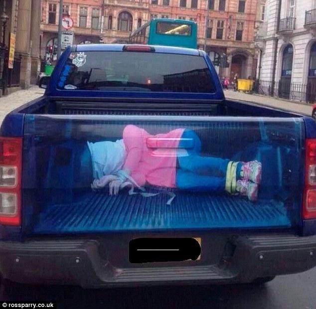 是什麼樣的汽車貼紙讓這麼多女性憤怒?但看過之後是覺得很過分!