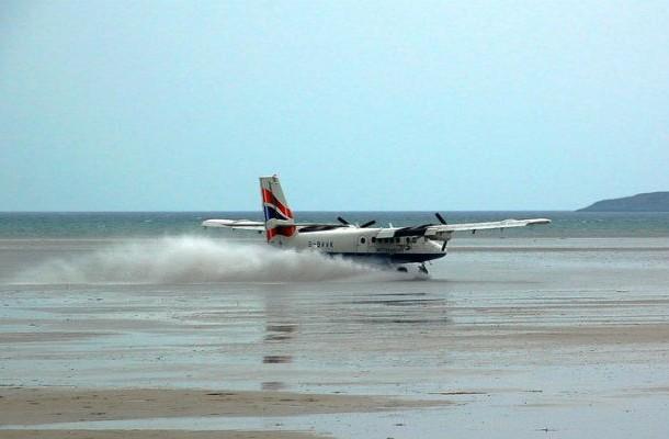 巴拉機場,蘇格蘭 (Barra International Airport, Scotland)