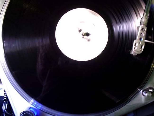 5.) Become A Vinyl Record.
