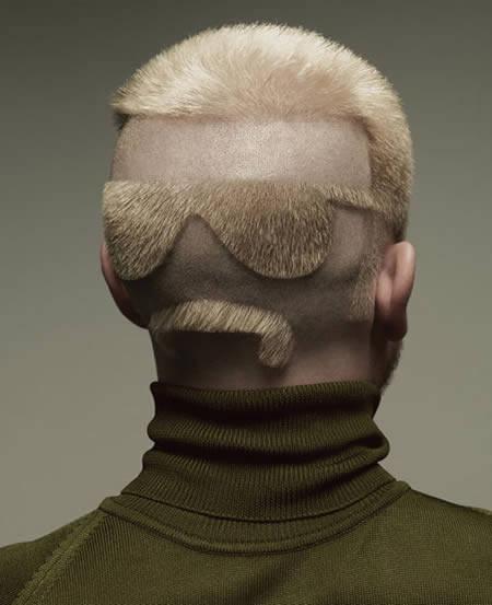 16.) 每個老師背後應該都要有個這個髮型,就不怕學生亂丟東西了。