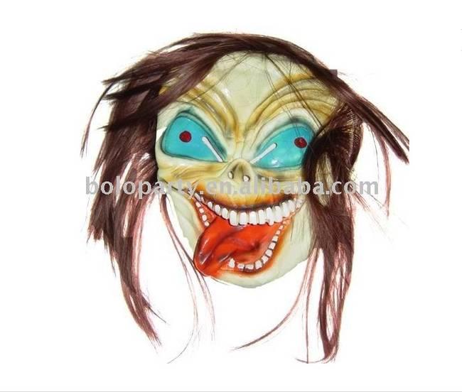 這個只有在你惡夢中才會出現的鬼臉面具(同樣地,也是30個一組,大概萬聖節的時候你可以買來送給朋友)。