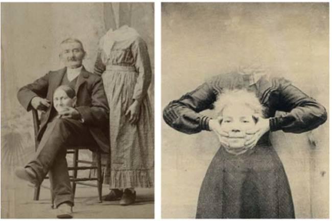 攝影師結合並重疊相片負片,就可以得到這種照片。